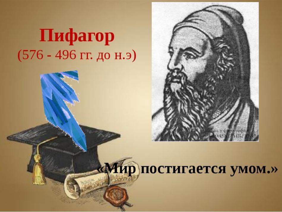 Философия пифагора