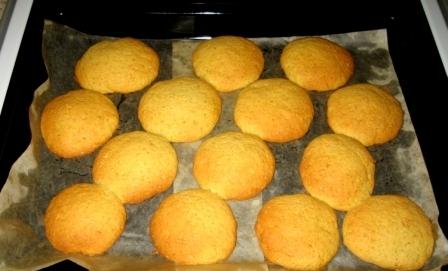 Готовое печенье из тыквы
