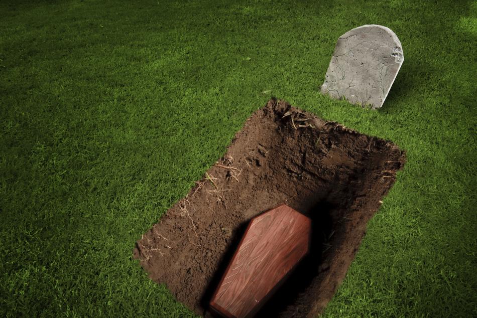 Оказаться на собственных похоронах во сне - хороший знак