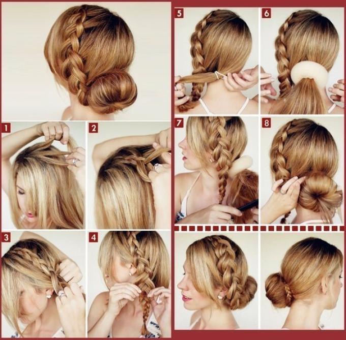 krasivaya-pricheska-dlya-podrostka-na-1-sentyabrya Как сделать банты из лент для волос своими руками. Мастер классы бантов для школы пошаговая инструкция с фото.