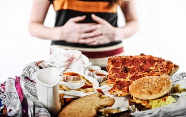 При неправильном питании