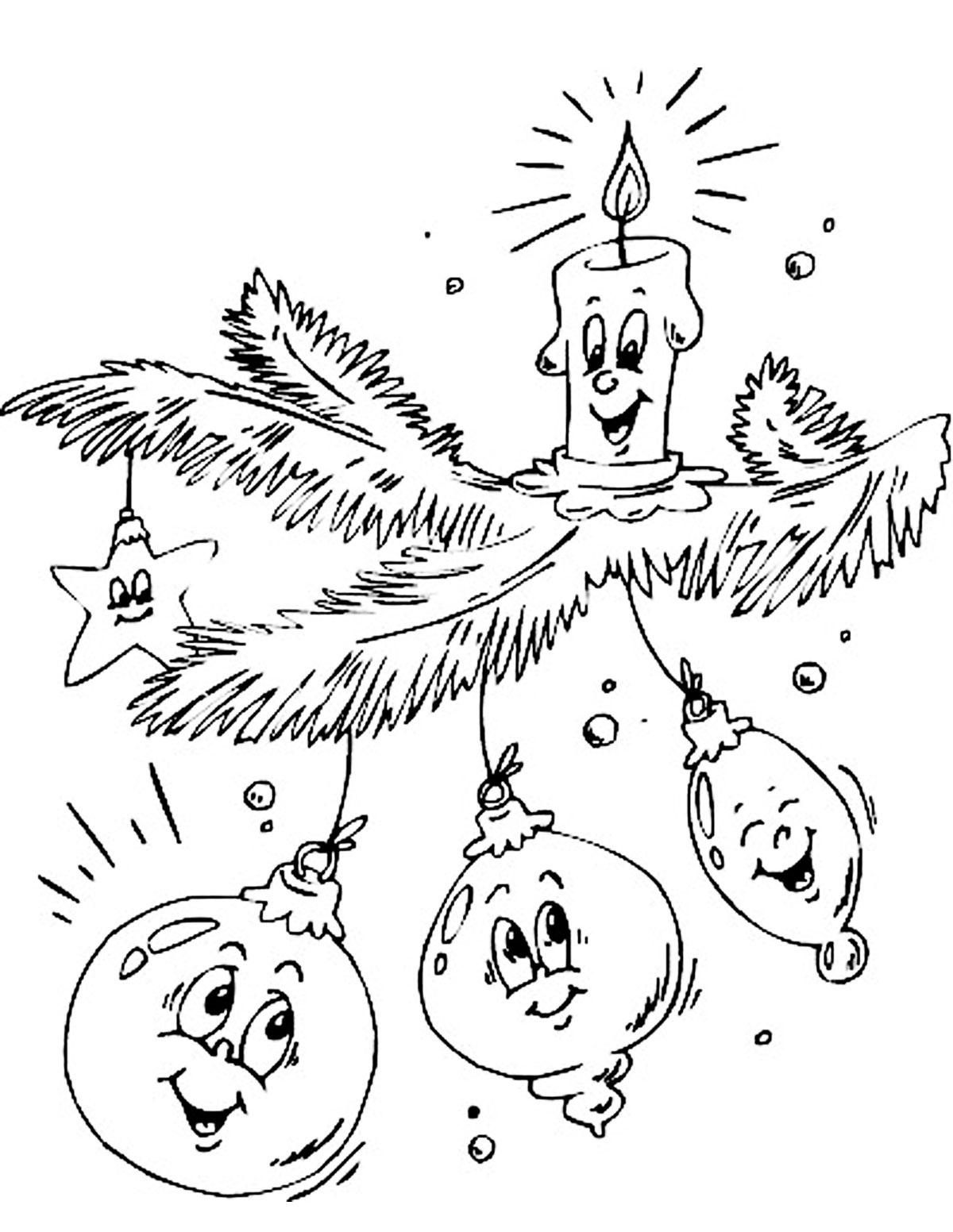 Годовщину, смешные рисунки на новый год карандашом