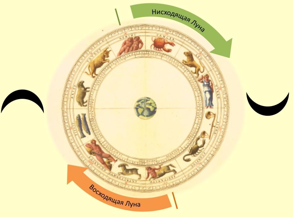 Лунный календарь и знаки зодиака