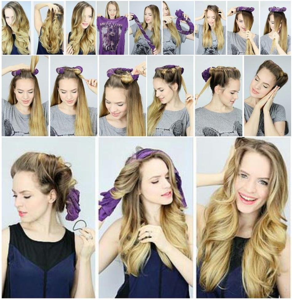 Как накрутить длинные волосы своими руками фото 836