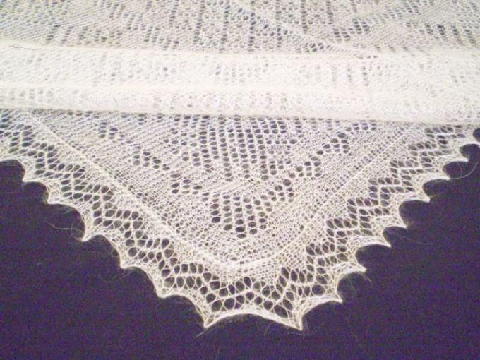 zubci-na-platke Спицами вязание косынок. Как связать косынку спицами: стильный предмет гардероба без лишних усилий