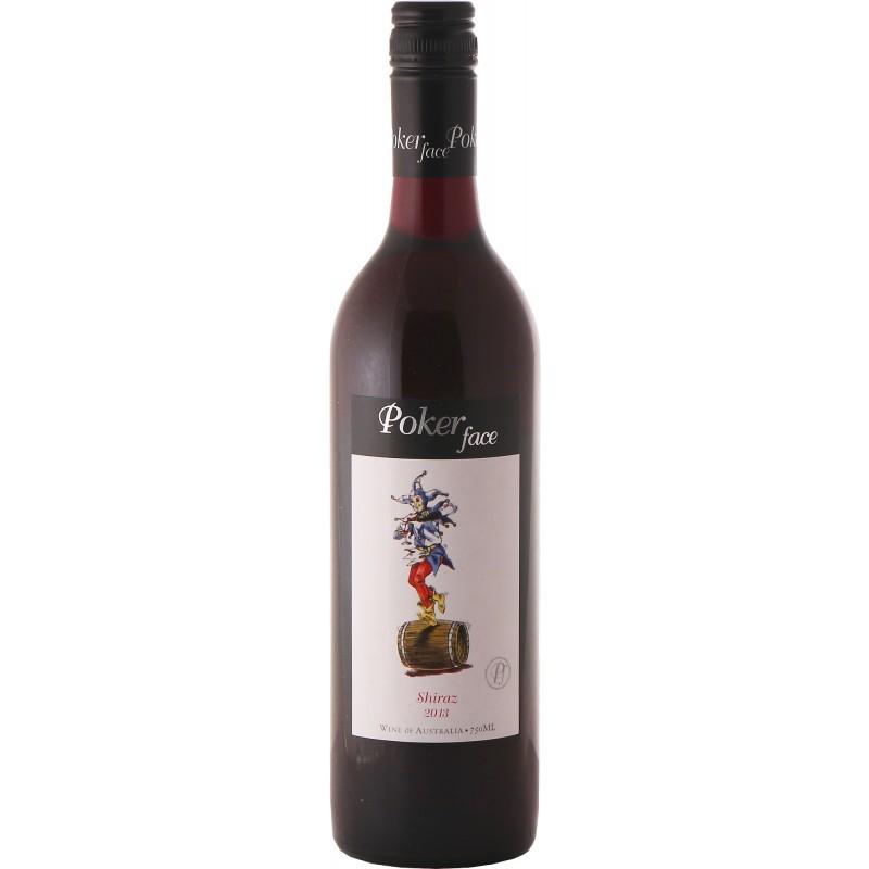 Вино3. австралийское красное сухое вино poker facе для алкогольного глинтвейна
