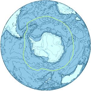 Границы антарктики