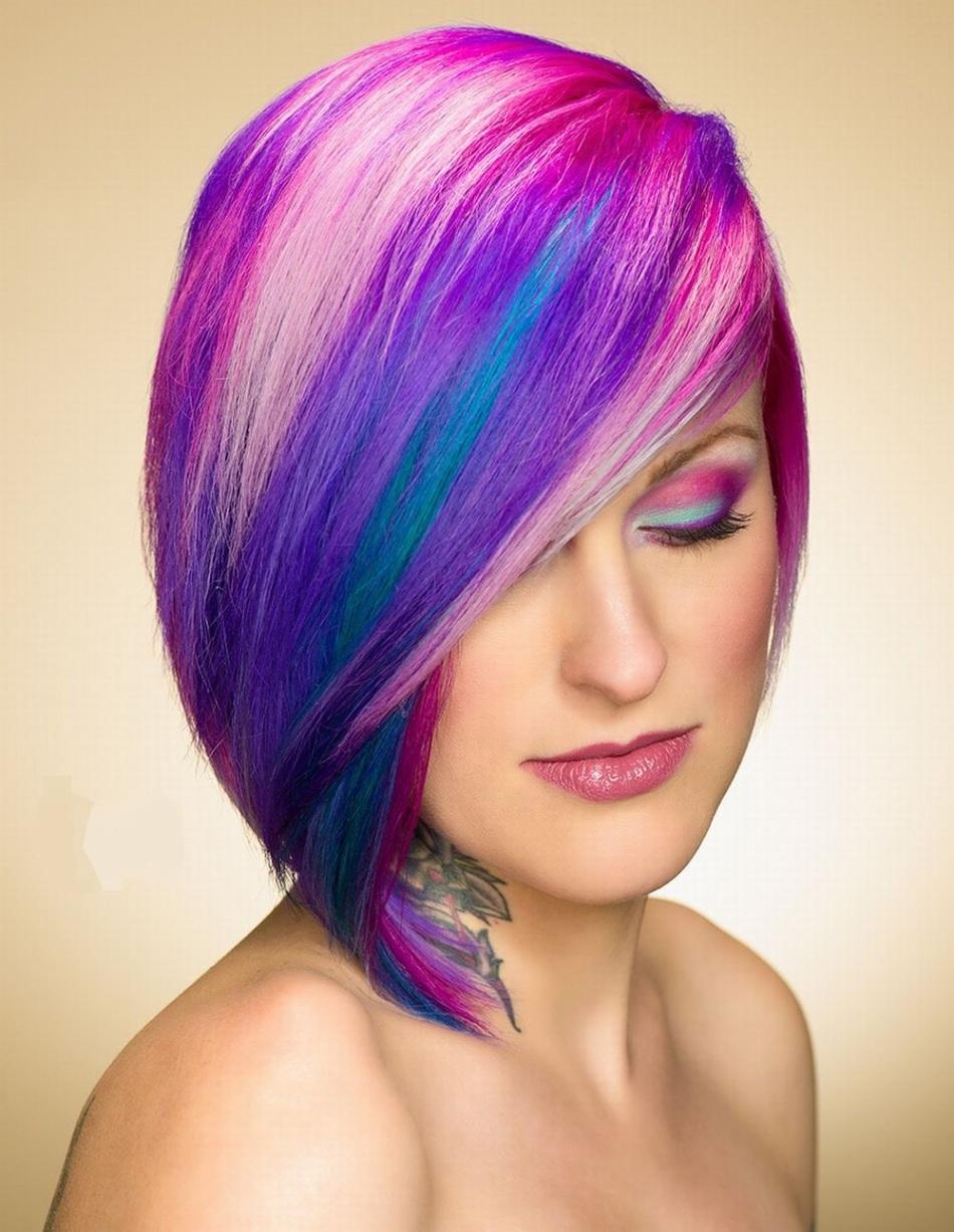 мелирование волос модных цветов колор фото том
