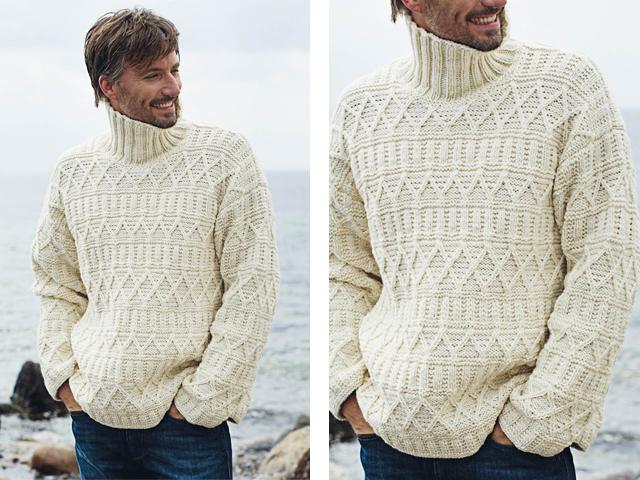 мужской свитер спицами детальная инструкция по основам вязания