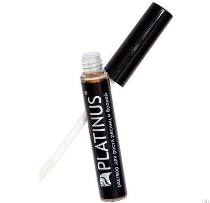 Средство для ресниц и бровей platinus lashes