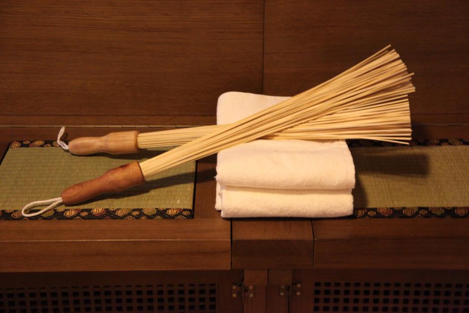 Банный веник из бамбука - экзотично и полезно