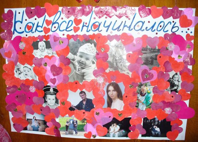 сначала плакат поздравление на свадьбу своими руками фото вид растений так