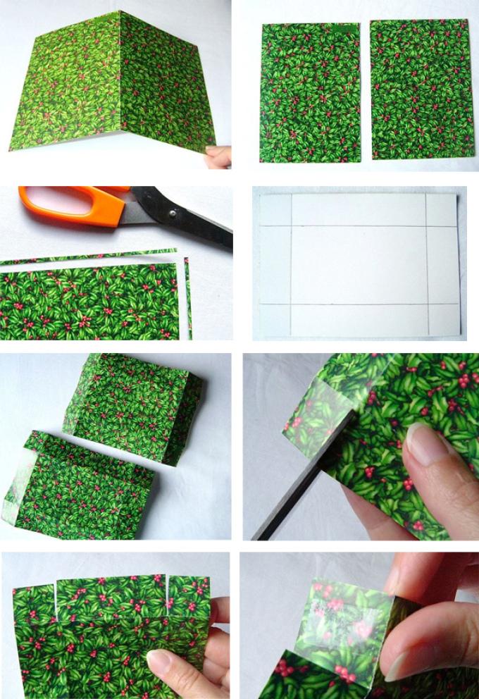 ecd6dc2c21096e3e5de7e305151cedbb Нарядная коробочка для упаковки подарка из подручных материалов