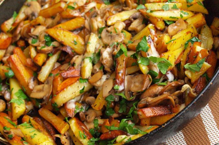 Чтобы картофель был вкусный, нужно выполнять следующие правила