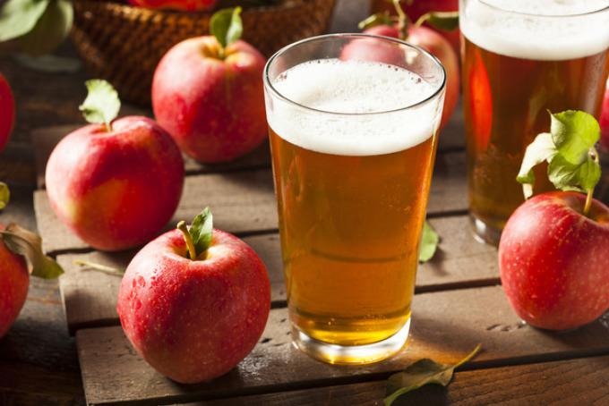 Легкий яблочный сидр