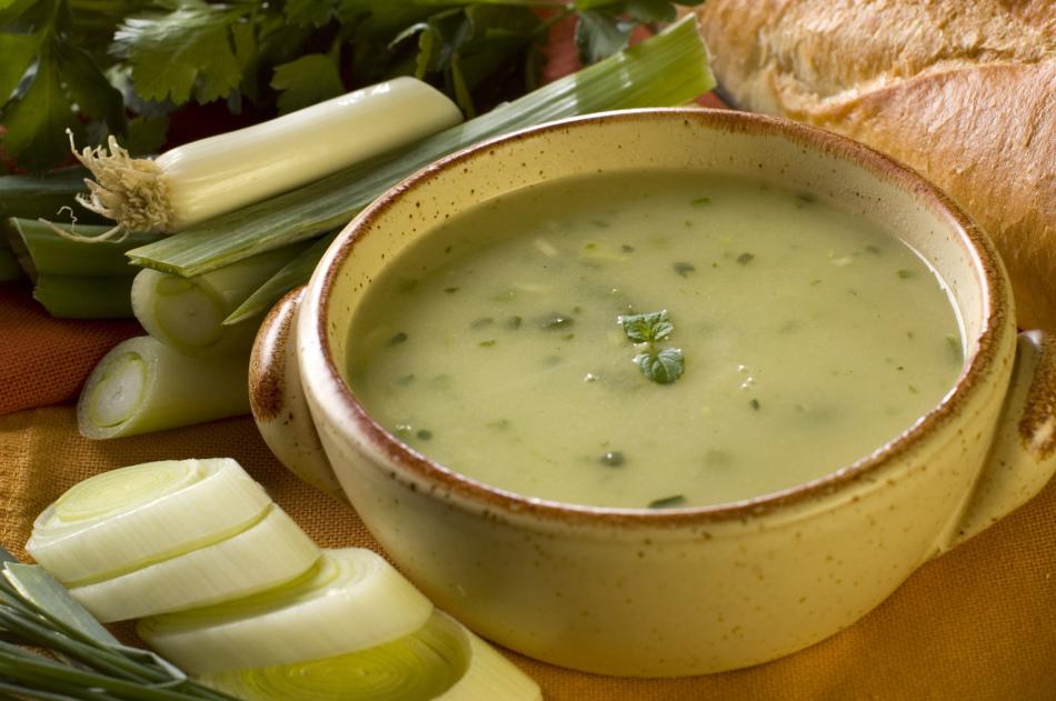 Низкокалорийный суп-пюре