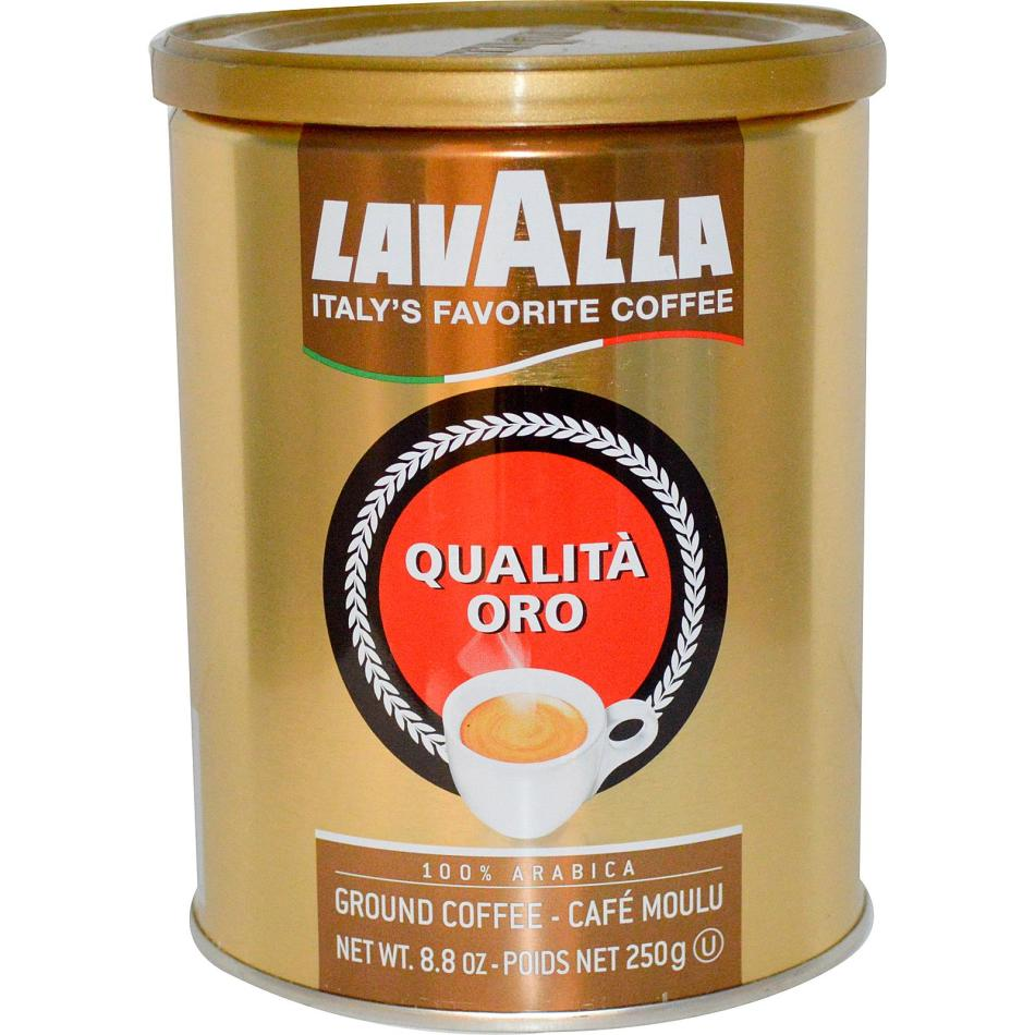 Рейтинг молотого кофе: № 5 lavazza