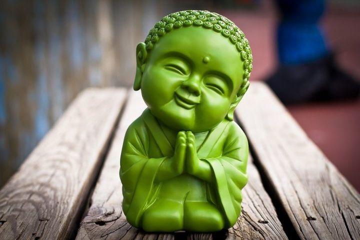 Улыбающийся будда — сильная картинка-амулет