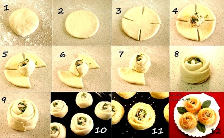 самое основное как правильно лепить пироги в картинках таких
