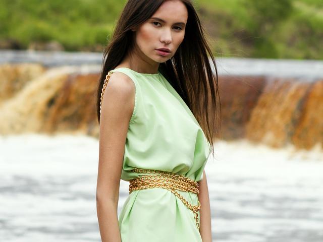 c1647d98f1e Как легко сшить простое платье? Как быстро сшить платье на лето своими  руками без выкройки из ...