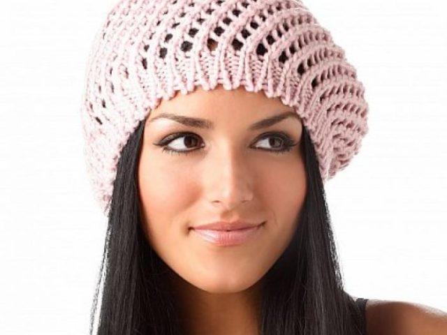 Схема вязания беретов для женщин схемы бесплатно