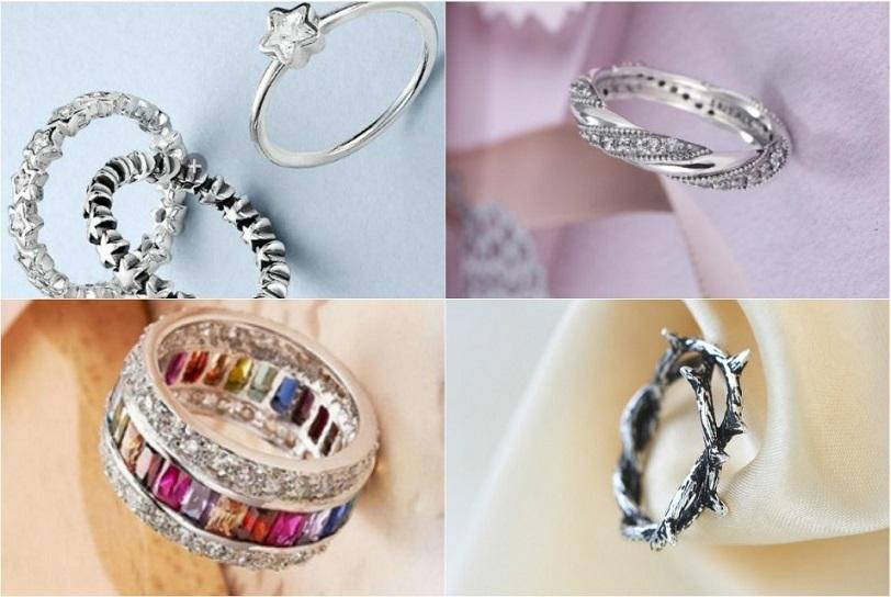 0eea854adb76 Больше всего серебряные кольца и серьги идут русоволосым и темноволосым  девушкам с зимним и летним цветотипом кожи.