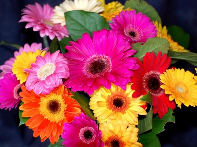 Букет на свадебный стол лилия гербера розами фото — img 5