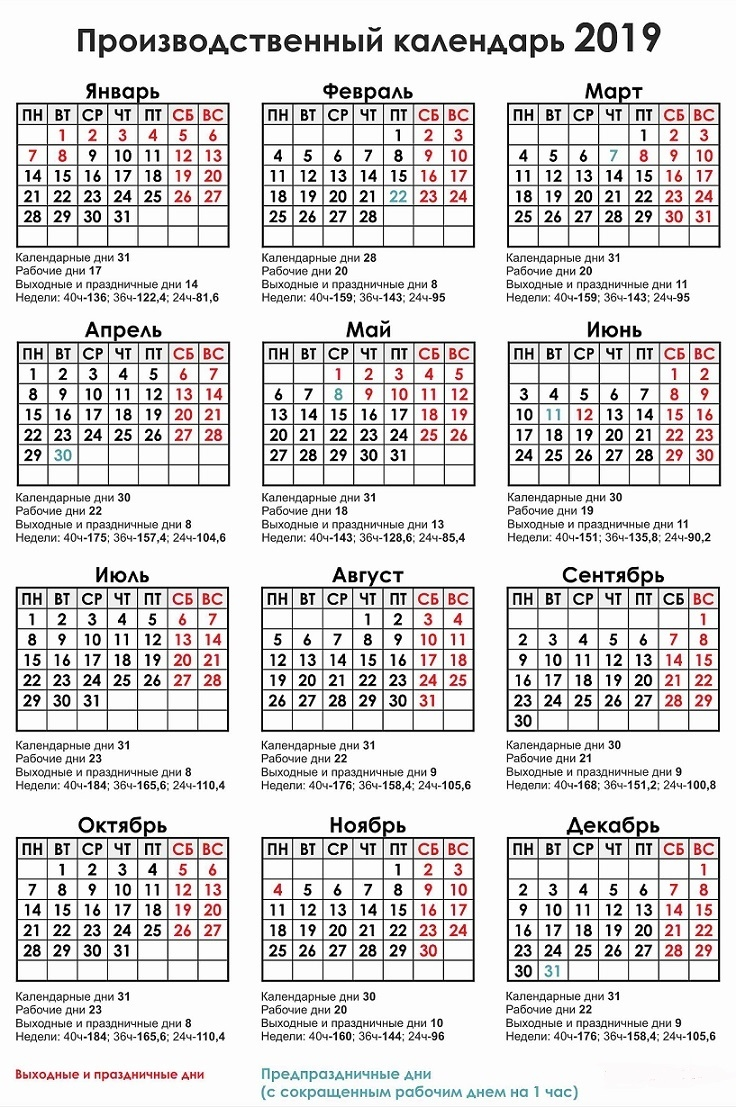 Календарь своими руками на фото