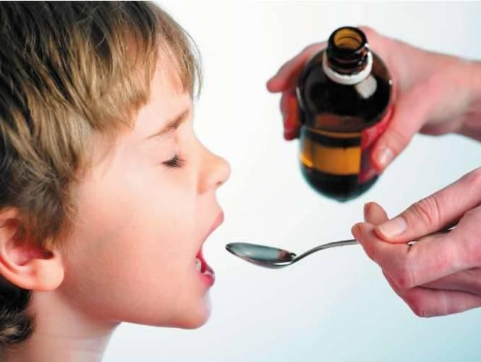 Сироп очень полез при кашле у детей