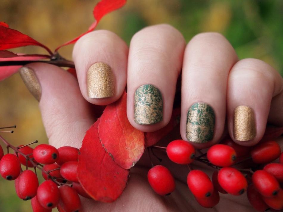 твой день дизайн ногтей осень шеллак фото петлю