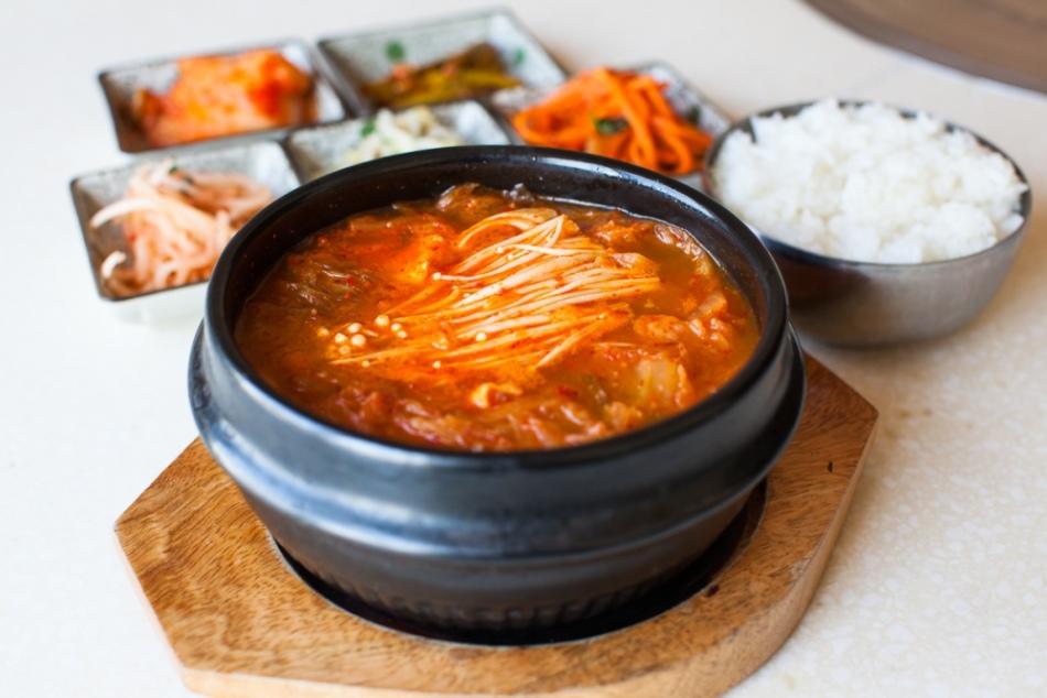 Корейское блюдо