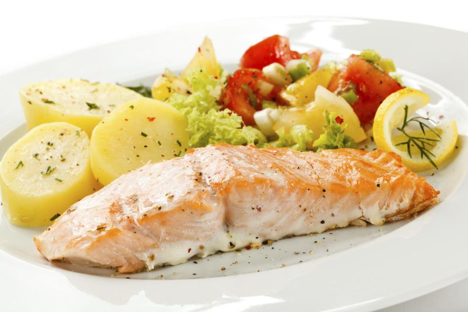 Рыбно-картофельное блюдо