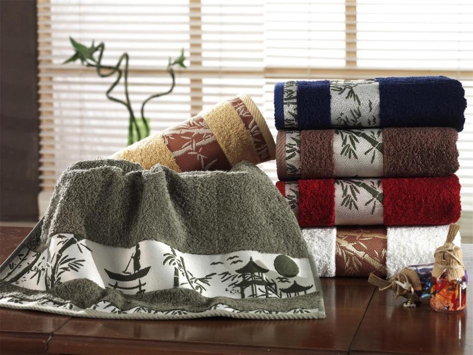 Полотенца из махровой ткани