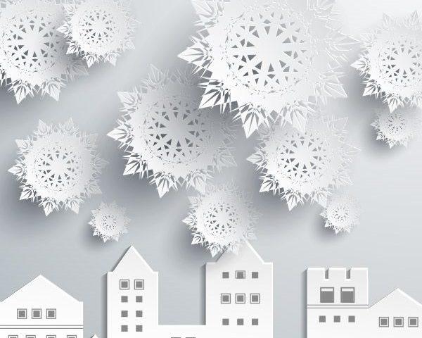 Объемные снежинки своими руками пошаговая инструкция фото 67