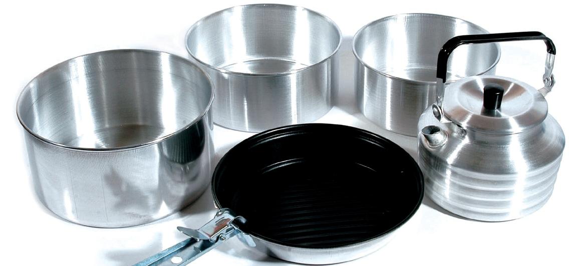 Средство для чистки алюминиевой посуды - как вернуть блеск?