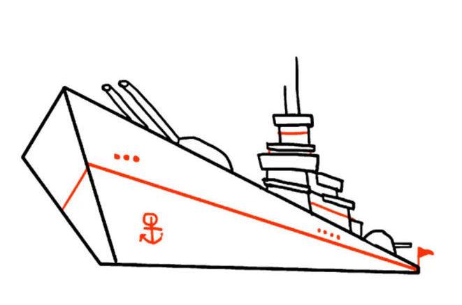 f384a80192deec5cee807a1eed50a822 Как нарисовать праздничный Парад военных кораблей на Параде Победы? Как нарисовать военный корабль карандашом и красками для ребенка поэтапно?    Класс Рисуем корабль в рукодельной энциклопедии Pro100hobbi