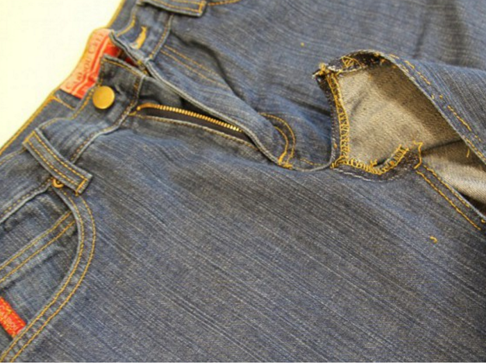 f43dea6f134865ed5893b8aa7d4697fa Фартук из старых джинс Мастер-класс