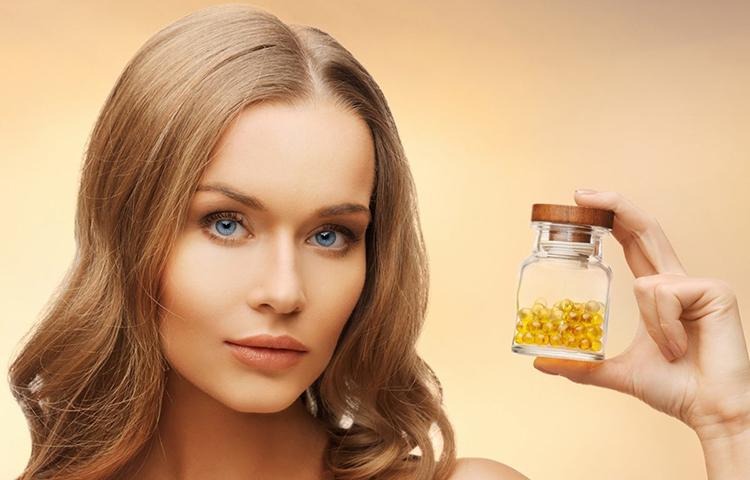 Витамины для волос и кожи