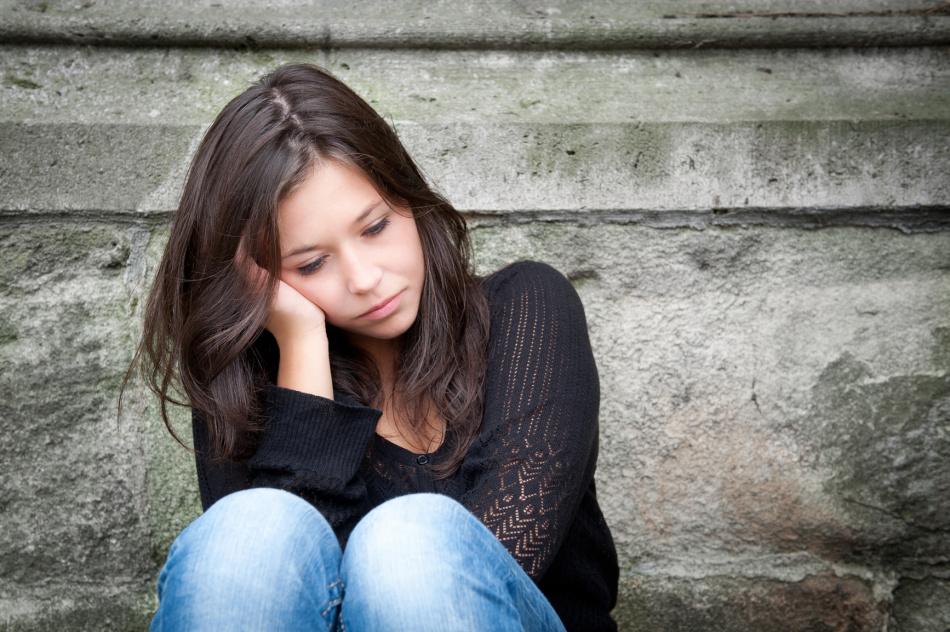Хроническая апатия, читающаяся на лице - один из физиогномических признаков психического расстройства