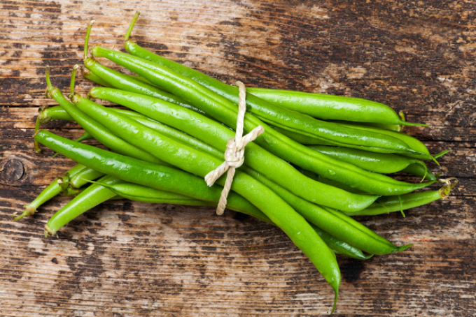 Стручковая фасоль - кладезь растительного белка.