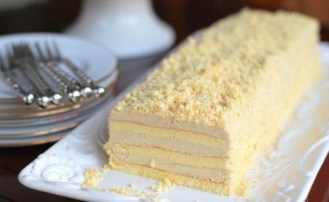 Торт с халвой славянка