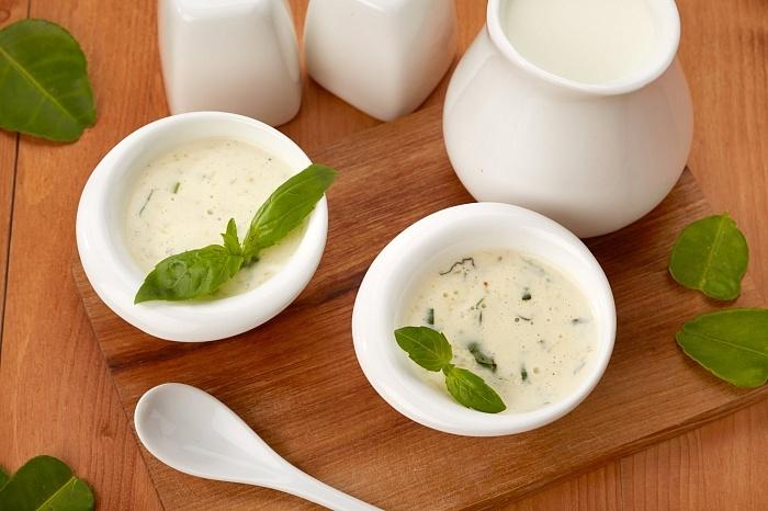 Сливочно-майонезный соус
