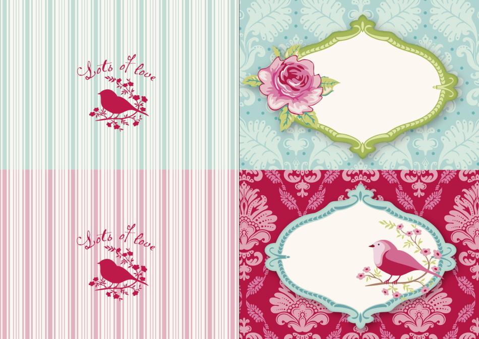 Шаблон открыток для скрапбукинга, тельца прикольная открытка
