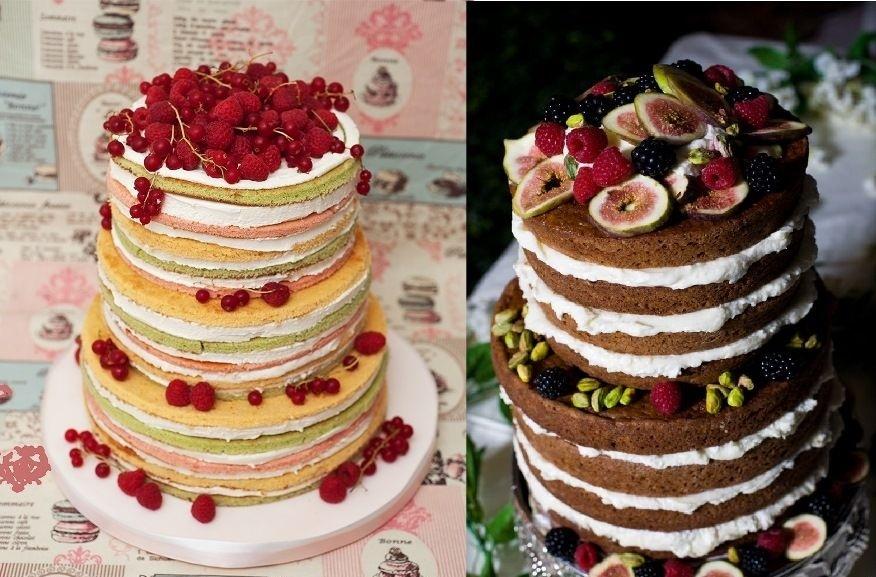 prazdnichnie-torti-ukrashennie-fruktami-i-yagodami-v-domashnih-usloviyah Украшение торта своими руками в домашних условиях