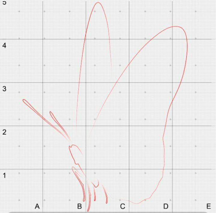 risuem-kontur-krilishek Как нарисовать 3д (3d) рисунок на бумаге карандашом