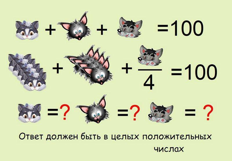логические задачи с картинками и ответами помощью