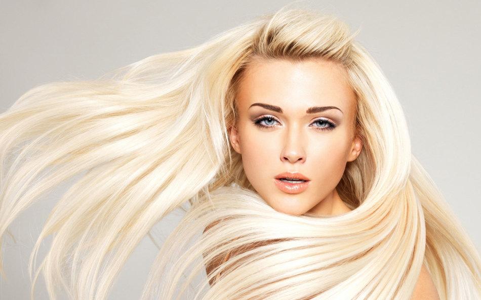 Блонд с платиновым отливом
