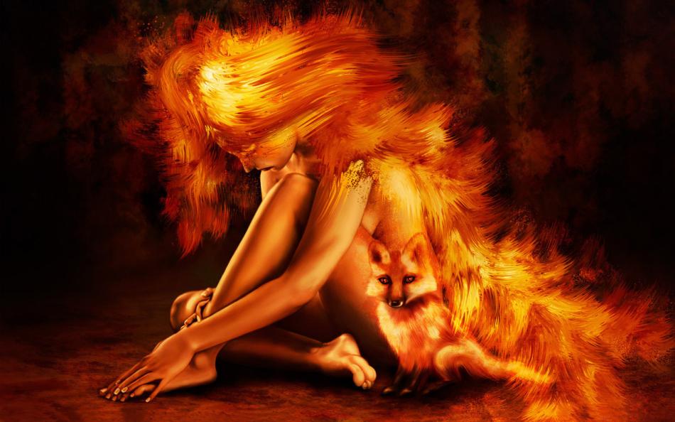 Стихия имени ольга - огонь