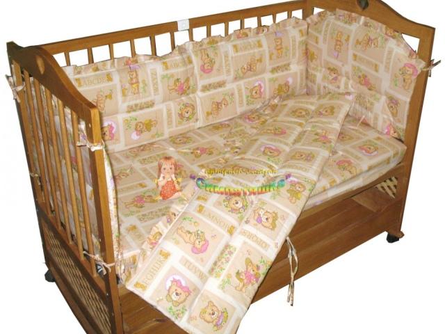 Шьем бортики в детскую кроватку своими руками фото 724