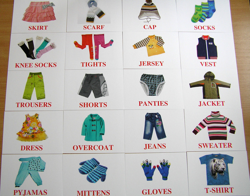 английский тест на тему одежда